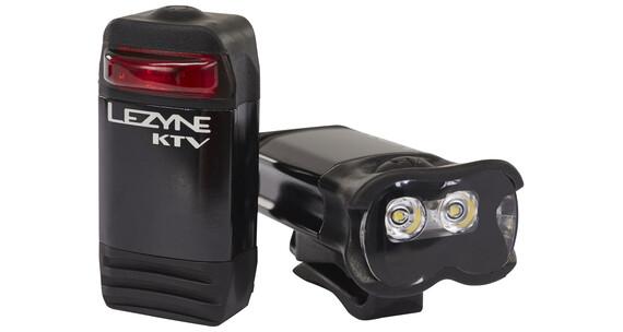 Lezyne KTV Drive Pro + KTV Drive ajovalosetti , musta